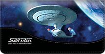 Star Trek Ships - Checkbook Cover