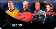 Star Trek Captains Checkbook Cover