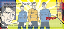 Star Trek Comics Personal Checks