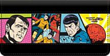 Star Trek Comics Checkbook Cover