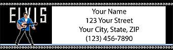 Elvis Return Address Label