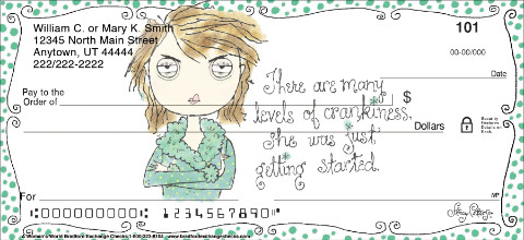 A Woman's World Personal Checks