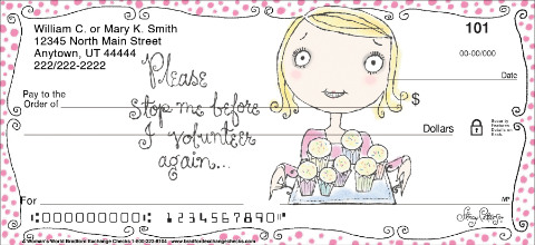 A Woman's World Personal Checks