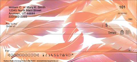 Feathers Personal Checks