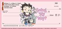 Biker Betty Personal Checks