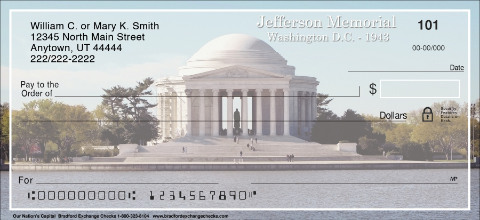 Our Nation's Capital Personal Checks