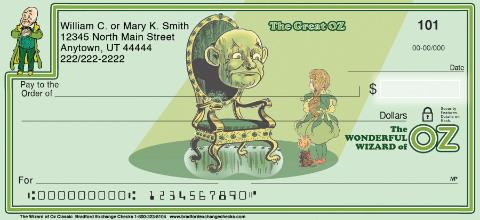 Classic Oz Personal Checks