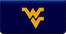 West Virginia University Checkbook Cover