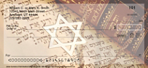 Jewish Symbols of Faith Personal Checks