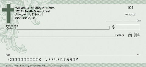 Seasons of Faith Personal Checks