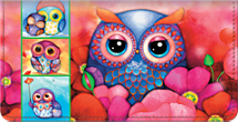 Seasons of the Owl Checkbook Cover