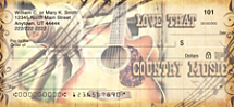 Country Music Personal Checks
