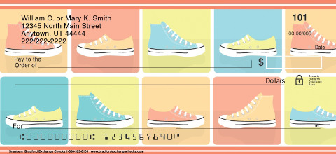 Sneakers Personal Checks