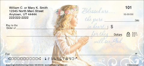 Blessed Angels Personal Checks
