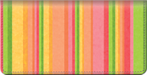 Tutti Frutti Checkbook Cover