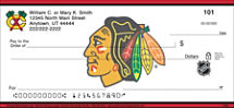 Chicago Blackhawks® Logo NHL® Personal Checks