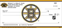 Boston Bruins® Logo NHL® Personal Checks