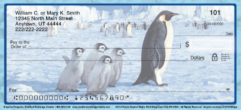Emperor Penguin Personal Checks