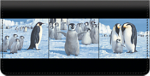 Emperor Penguin Checkbook Cover