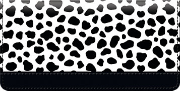 Cow Pattern Checkbook Cover