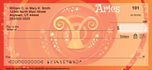 Zodiac - Aries Personal Checks