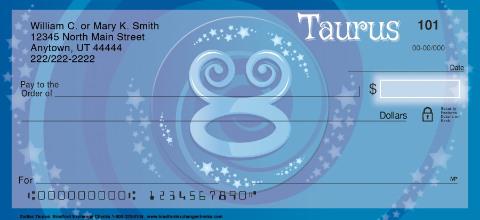 Zodiac - Taurus Personal Checks