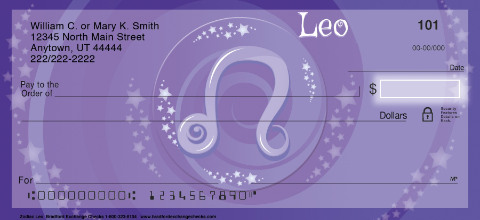 Zodiac - Leo Personal Checks