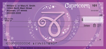 Zodiac - Capricorn Personal Checks