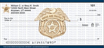 Protect and Serve Personal Checks