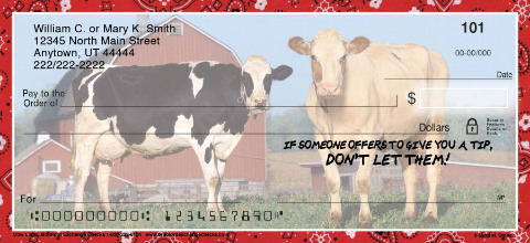 Cow Logic Personal Checks