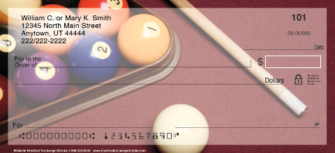 Billiards Personal Checks