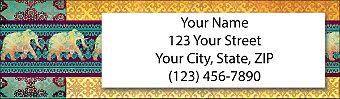 Marrakesh Market Return Address Label