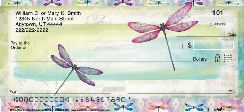 Dragonflies Personal Checks
