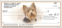 Best Breeds - Yorkshire Terrier Personal Checks