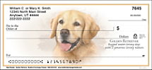 Best Breeds - Golden Retriever Personal Checks