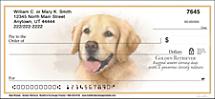 Best Breeds - Golden Retriever Personal Checks