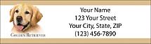 Best Breeds - Golden Retriever Return Address Label