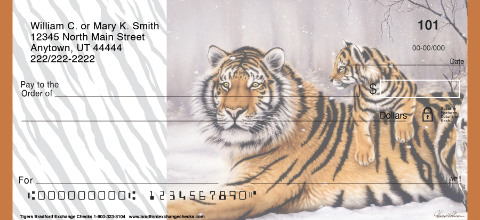 Tigers Personal Checks
