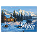 Winter Retreat Personalized Holiday Cards