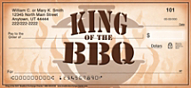 King of the Grill Personal Checks