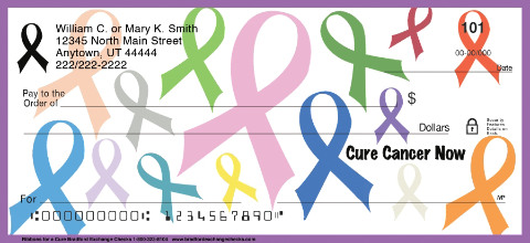 Ribbons for a Cure Personal Checks