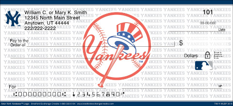 New York Yankees™ MLB® Logo Personal Checks