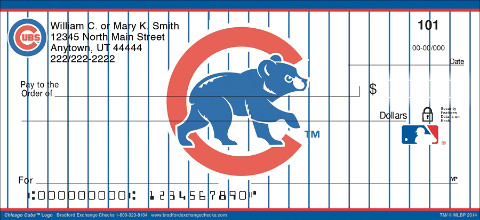 Chicago Cubs™ MLB® Logo Personal Checks