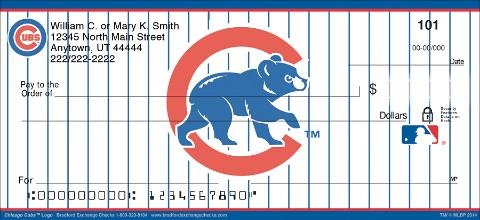 Chicago Cubs™ MLB® Logo Personal Checks