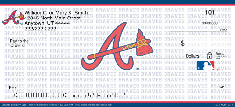 Atlanta Braves™ MLB® Logo Personal Checks