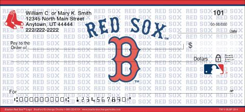 Boston Red Sox™ MLB® Logo Personal Checks