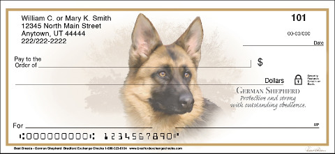 German Shepherd Dog Best Breeds Personal Checks