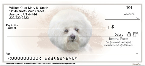 Best Breeds - Bichon Frise Personal Checks
