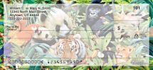 Animal Kingdom Personal Checks
