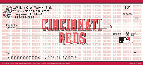 Cincinnati Reds™ MLB® Logo Personal Checks